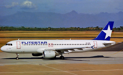 Flitestar Airbus A320 ZS-NZP by Corneliu