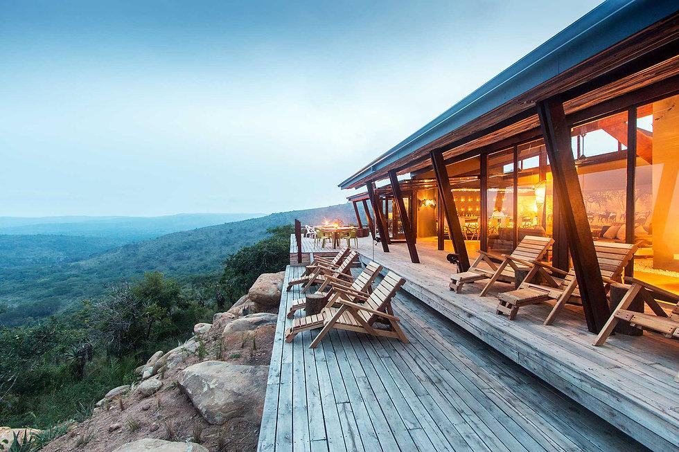 Flitestar Kosi Forest Lodge Living Area