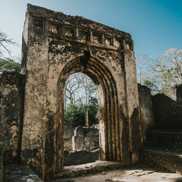 Gede Ruins Kenya