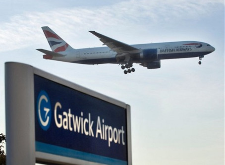 Fly from Manchester to Gatwick!