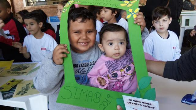 Crianças participam da SIMAB 2019.