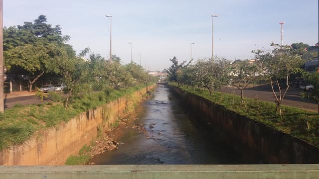 Foto do Rio Bauru