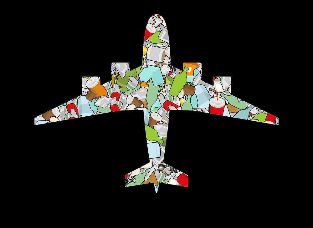 O tanto de plástico que vai para os oceanos equivale a 60 boeings
