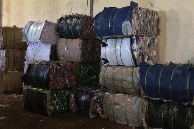 Prensas de reciclagem