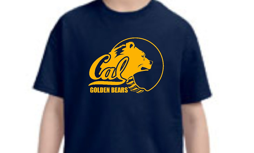 Cal Berkeley Golden Bears Short Sleeve