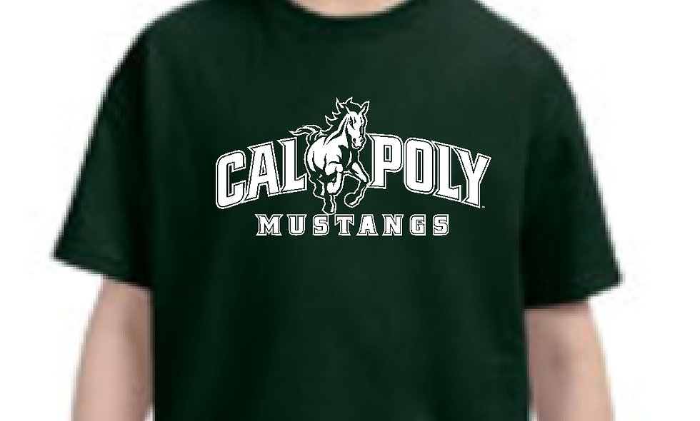 Cal Poly Mustangs Short Sleeve
