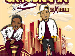 "JC Elevates With Calboy on ""Skyscrapin"" Single"