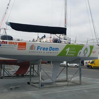 Yeni Sponsor/ Nouveau partenaire FreeDom Services à Domicile