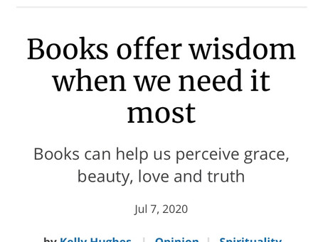 Kelly Hughes Guest Column for NCR: Books Offer Hope in Hard Times
