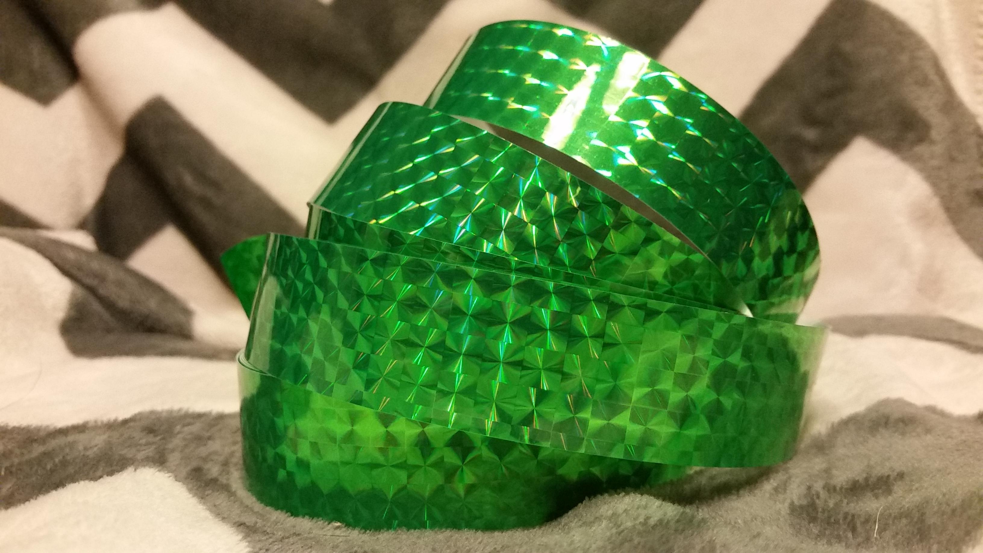 Green Prism Hoop Tape