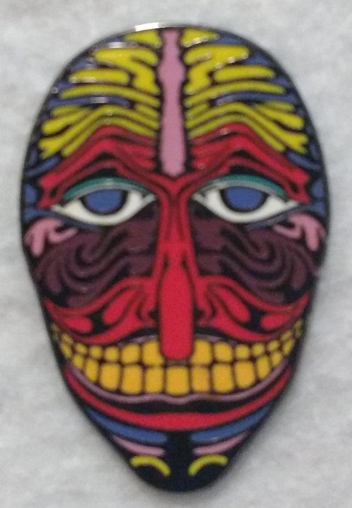 Tribal Zulu Mask (Red)