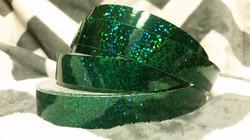 Lucky Emerald Hoop Tape