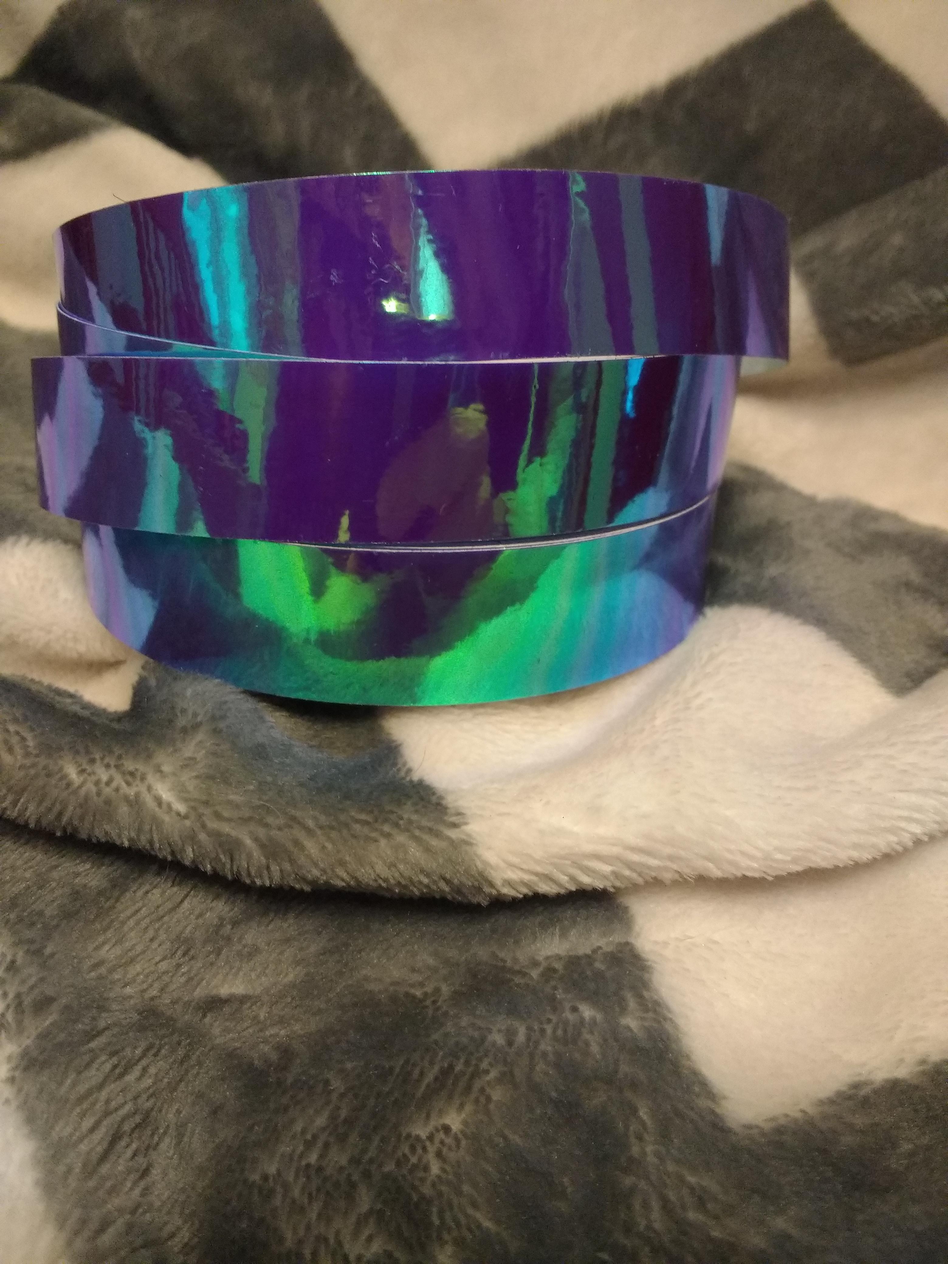 Wild Orchid Hoop Tape