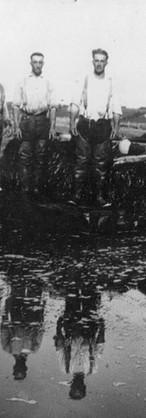 Albert, Henry, et Frère Michaud