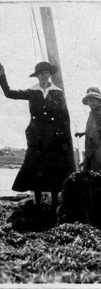 1918: les femmes allaient ramasser la mousse de mer