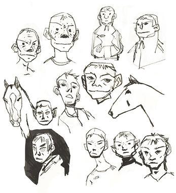 shergar character design