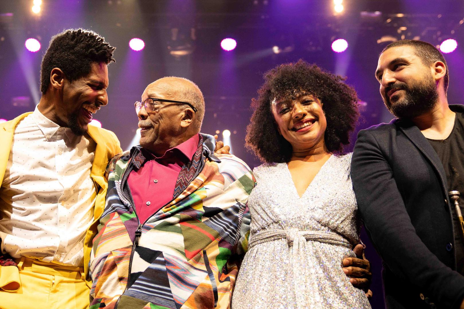 Jon Batiste - Quincy Jones - Sheléa - Ibrahim Malouf