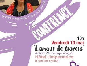 L'amour de travers : Conférence d'Anita Warmel