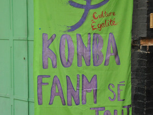 Soutien à l'Union des Femmes de la Martinique
