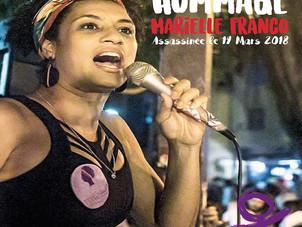 Culture Égalité a rendu hommage à Marielle Franco, femme politique Brésilienne, assassinée il y a un
