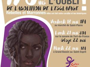 Rebelles et Marronnes, 22 mai 2018