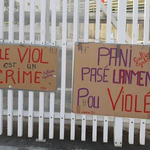 LE VIOL EST UN CRIME ET DOIT ETRE TRAITE COMME TEL
