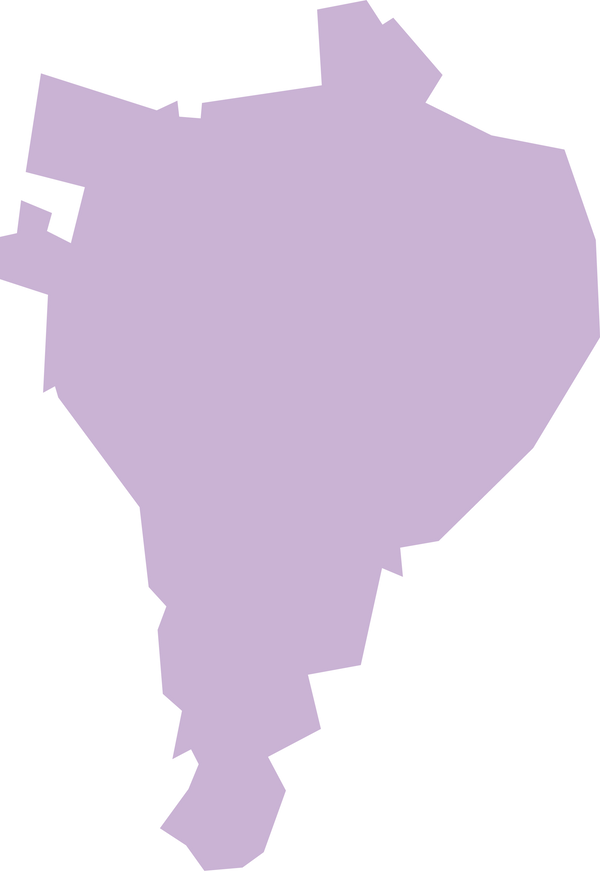 Carte simplifié de la commune de Rivère Pilote