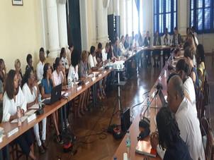 Grenelle des violences faites aux femmes:  compte rendu de la réunion tenue à la préfecture de Mart