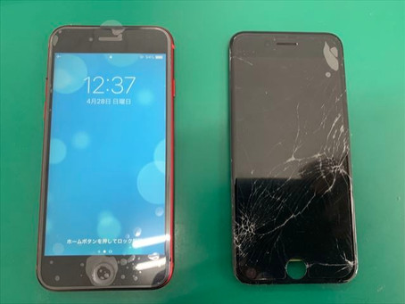 iPhone8 液晶交換修理