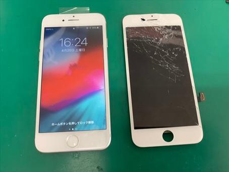 iPhone6s フロントパネル交換(液晶)