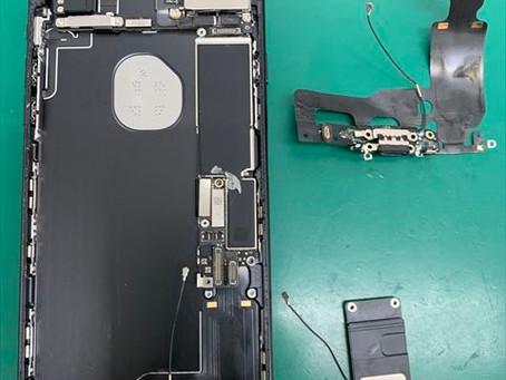iPhone7 ドックコネクタ・バッテリー交換修理
