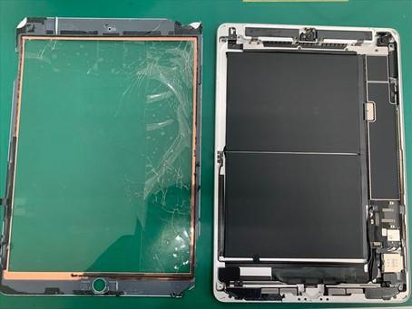 iPad7 画面割れ修理(フロントパネル)