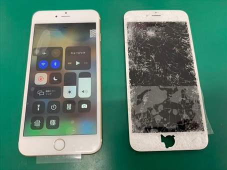 iPhone6sPlus 液晶交換修理