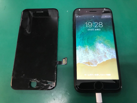 iPhone7 フロントパネル交換修理