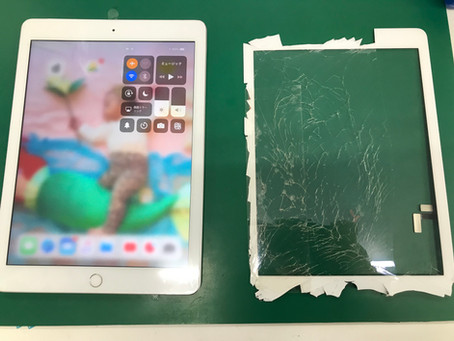 iPad5 フロントパネル交換修理