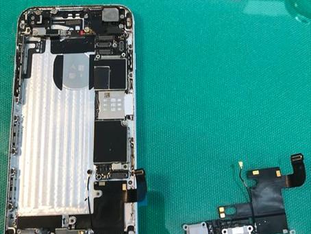 iPhone6 ドックコネクタ・バッテリー交換修理