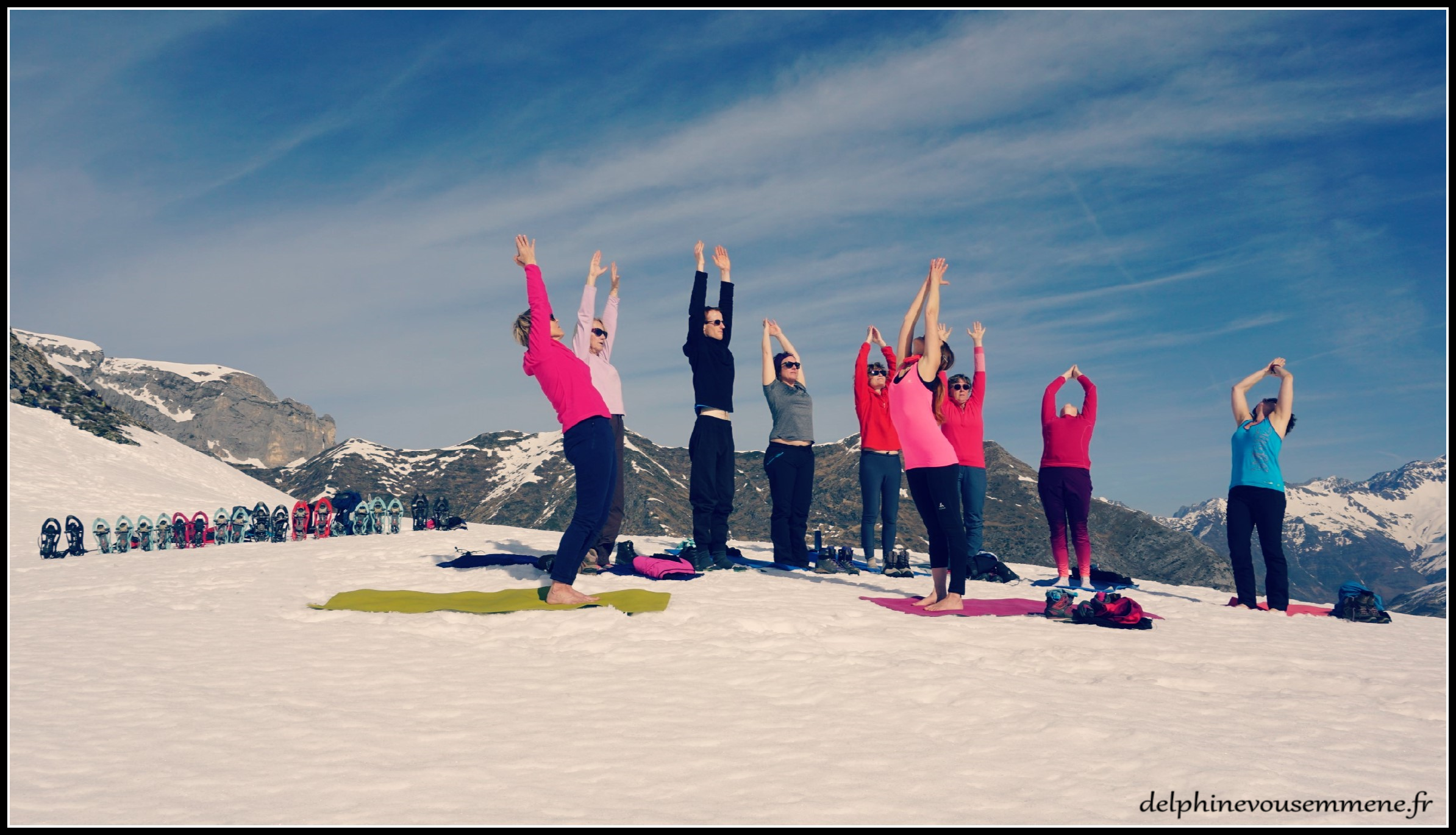 Week end Yoga neige