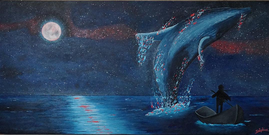 L'homme et baleine