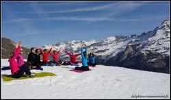 Week end Yoga neige