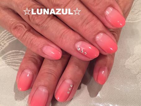 ピンクのグラデーション pink gradation