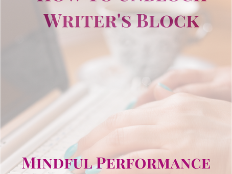 How to Unblock Writer's Block