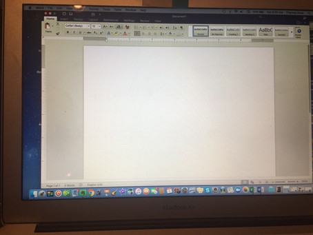 Ode to the Blank Screen