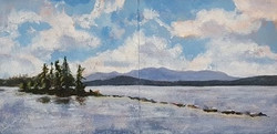 Raquette Lake from the Durant Unframed