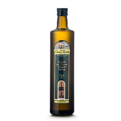 Aceite Oliva Virgen Extra. Variedad Empeltre.