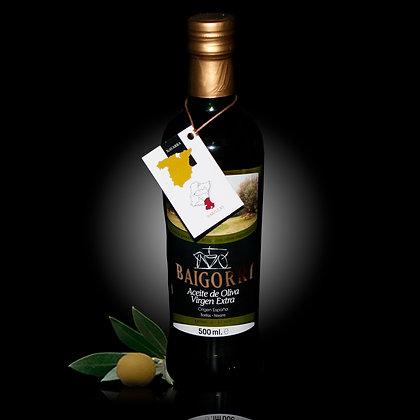 Aceite de Oliva Virgen Extra. Baigorri