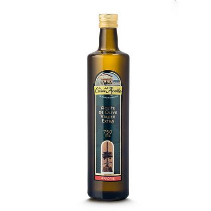 Aceite de Oliva Virgen Extra. Variedad Arroniz.