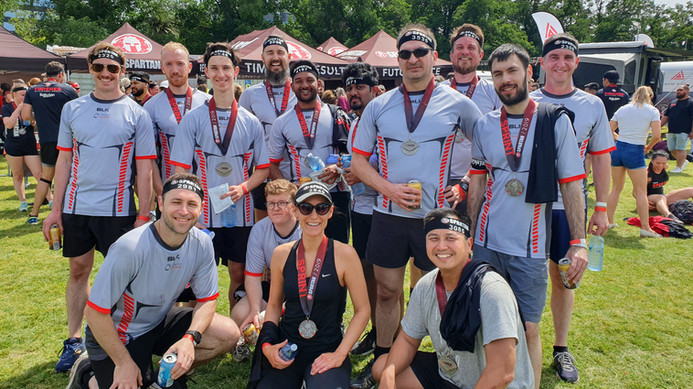 SAFEgroup Automation team participating in the Spartan challenge