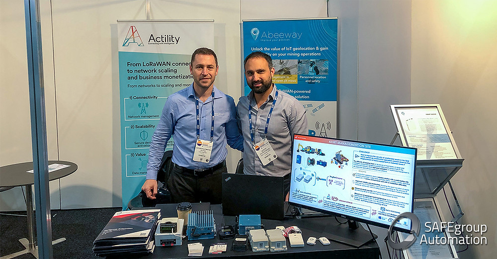 SAFEgroup Automation and Actility at IMARC