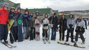 SAFEgroup Automation team at the snow