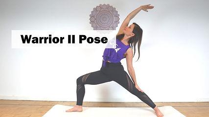 Yoga Basics Warrior 2 Pose